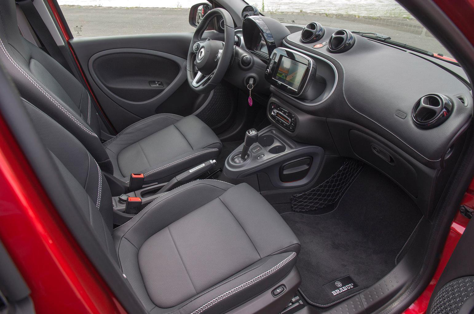 2016 Smart Brabus Forfour review