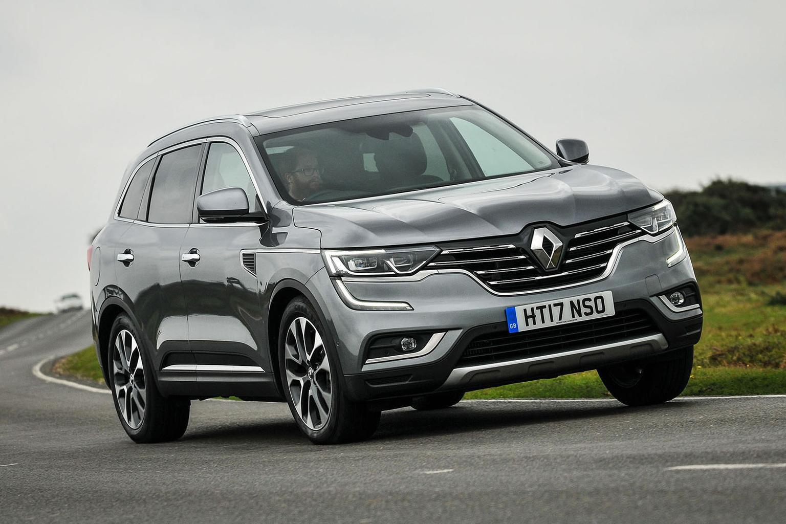 New Renault Koleos vs Mazda CX-5