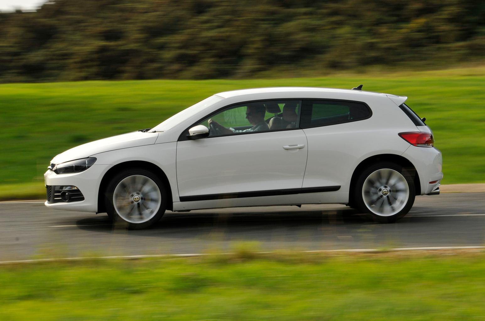 Used VW Scirocco vs Mini Coupe vs Peugeot RCZ