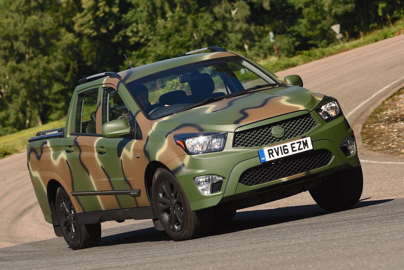2016 Ssangyong Korando Sports DMZ review