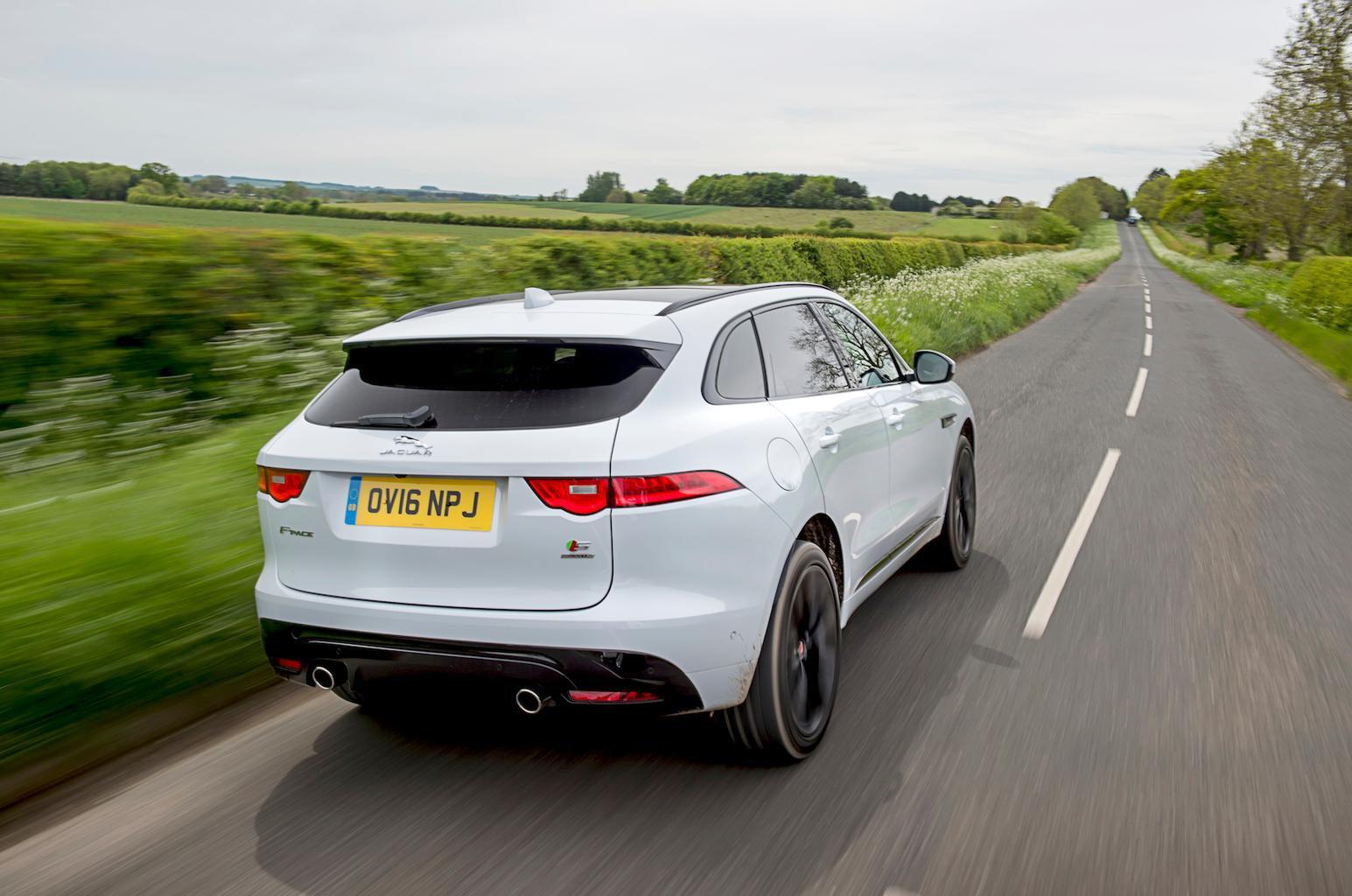 2016 Jaguar F-Pace 3.0d review