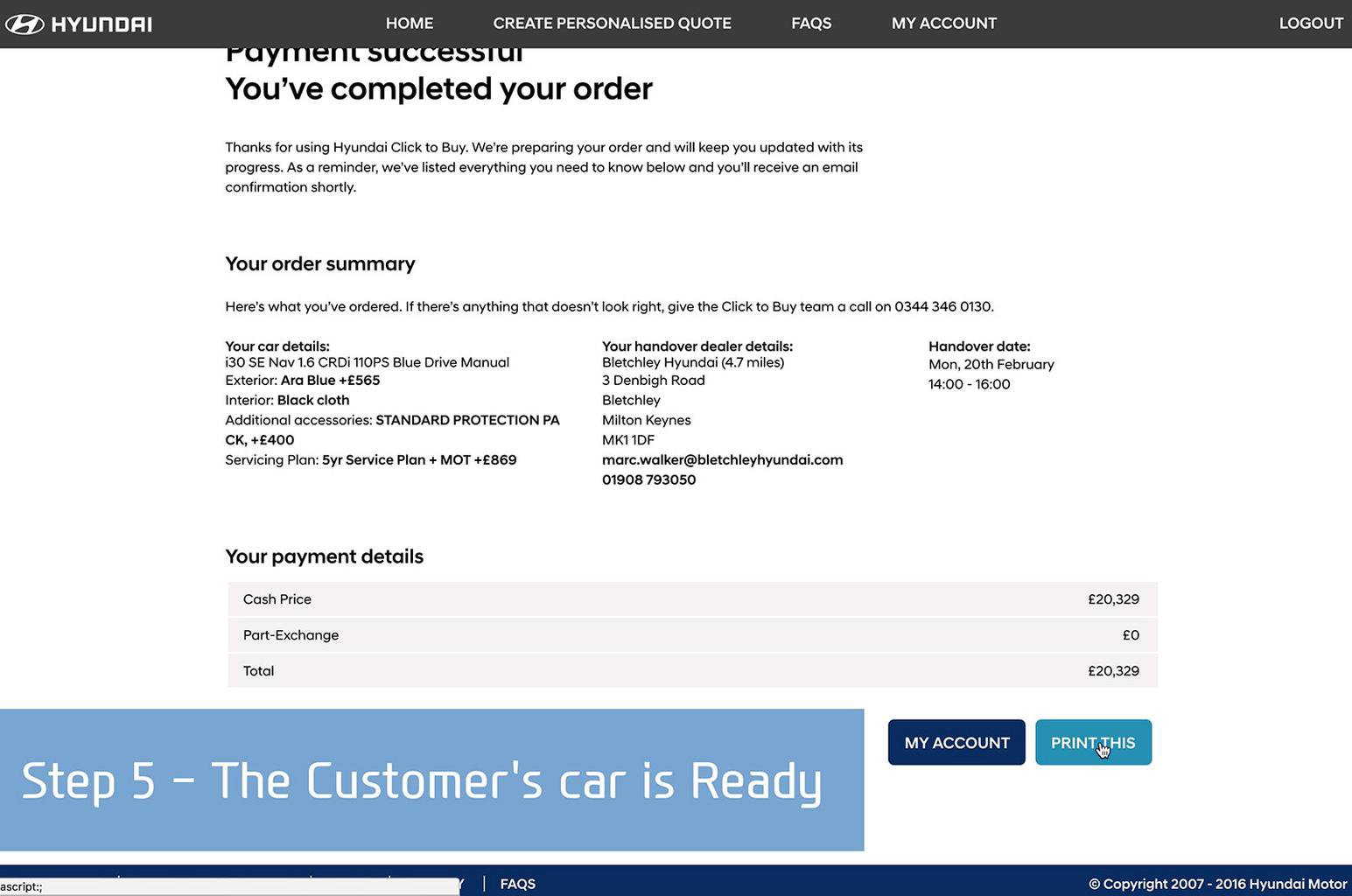 Hyundai to launch first total online buying service