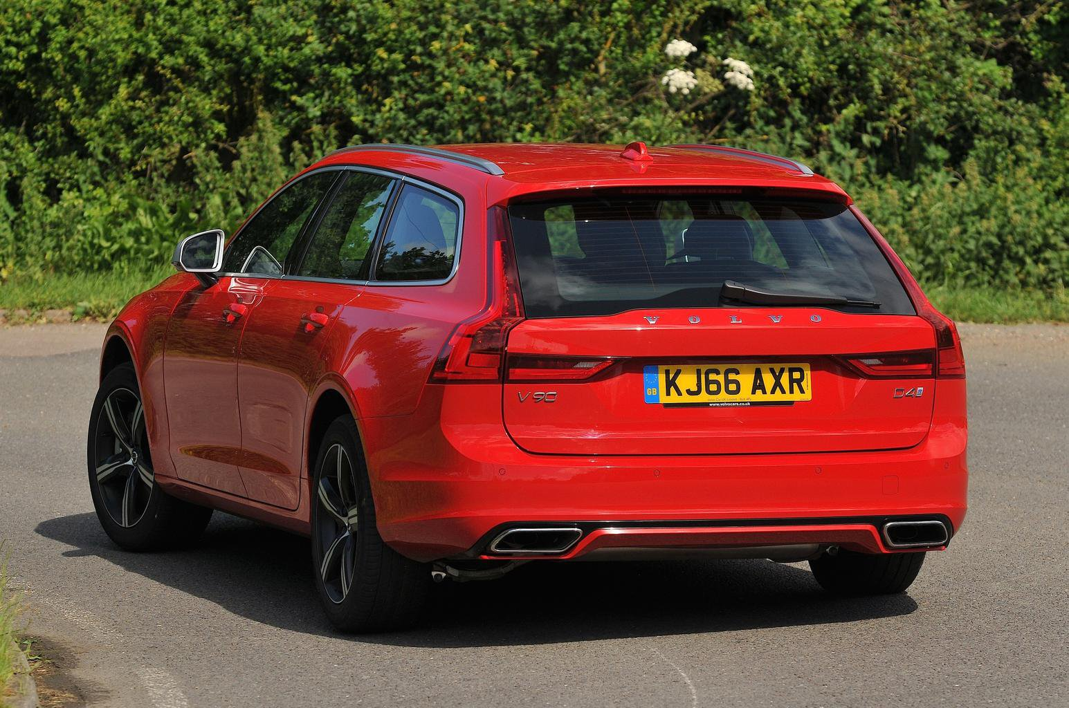 New BMW 5 Series Touring vs Mercedes E-Class Estate vs Volvo V90
