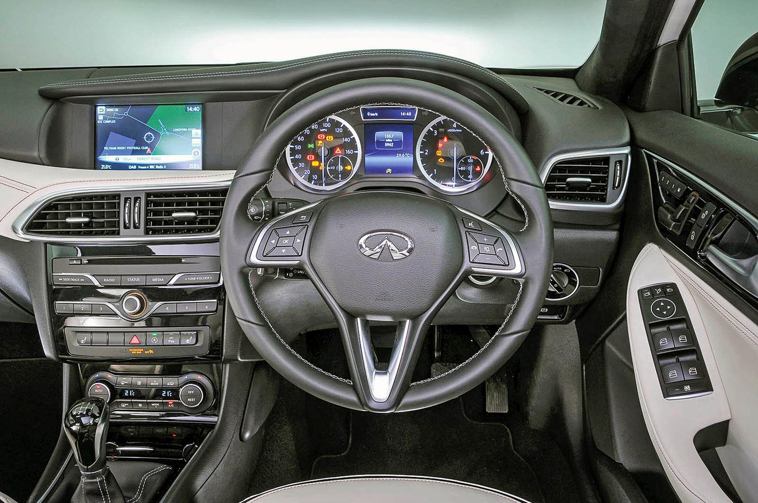 New Audi A3 Sportback vs Alfa Romeo Giulietta vs Infiniti Q30