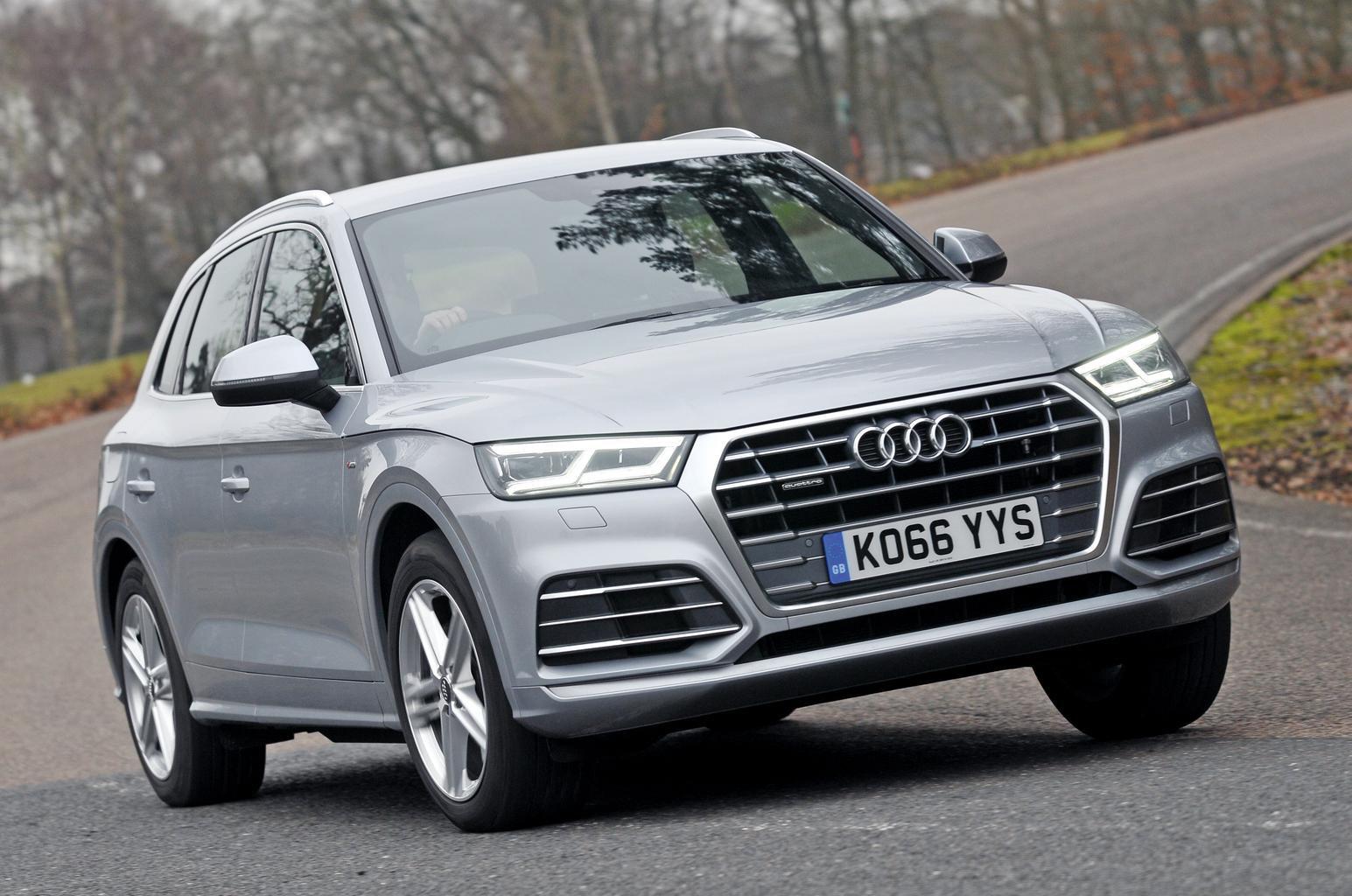 New Audi Q5 vs Land Rover Discovery Sport vs Mercedes GLC