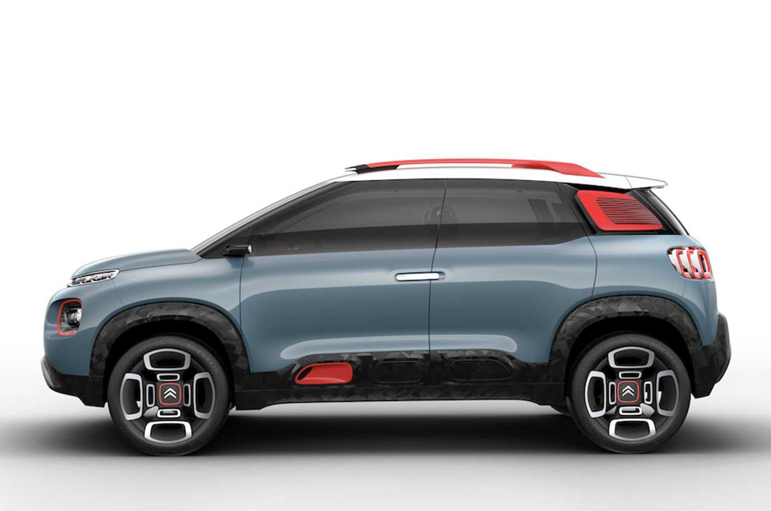 Next Citroen C3 Picasso previewed by C-Aircross concept
