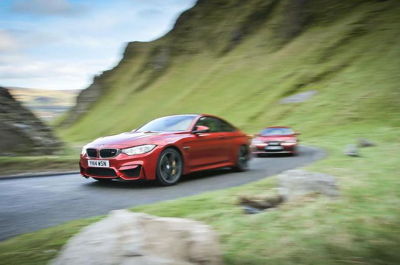 BMW M4 vs Lexus RC-F