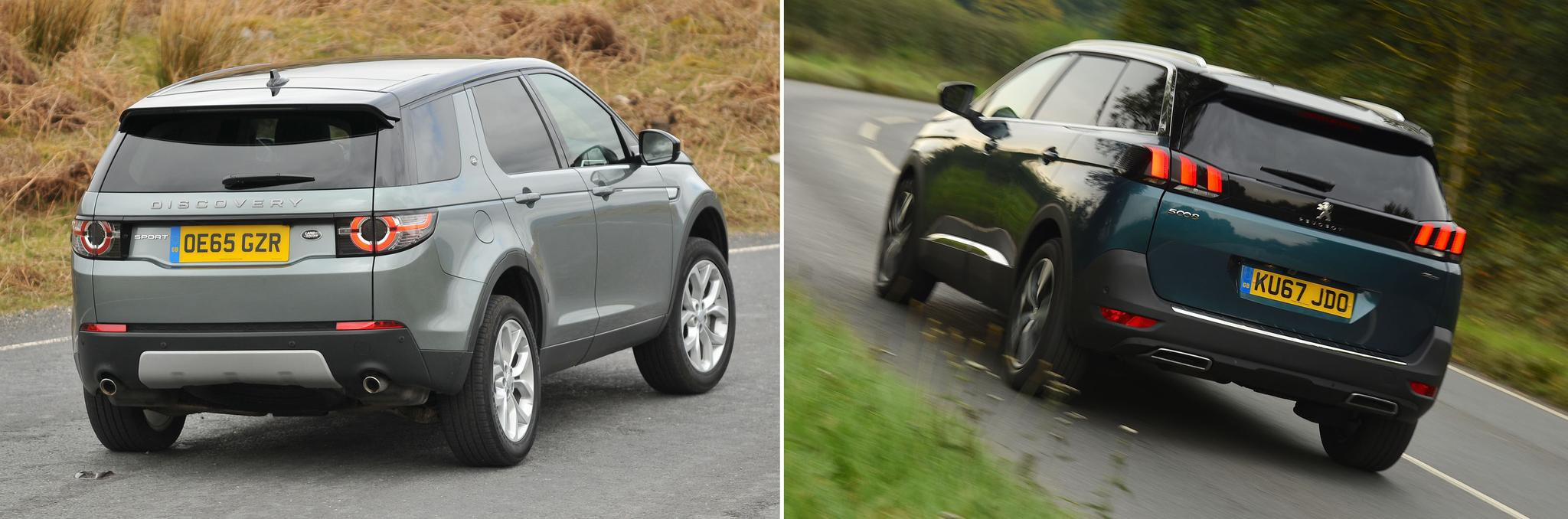 New Peugeot 5008 vs used Land Rover Discovery Sport: which is best?