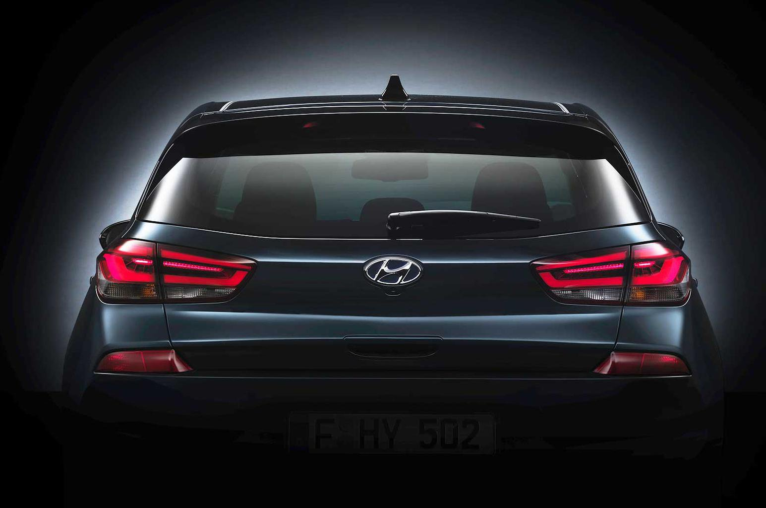 2017 Hyundai i30 - first pictures ahead of September debut