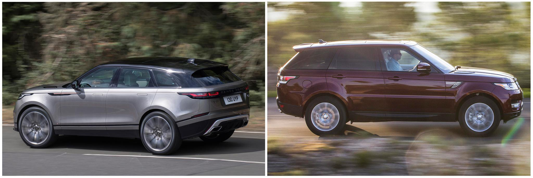 New Range Rover Velar Vs Sport