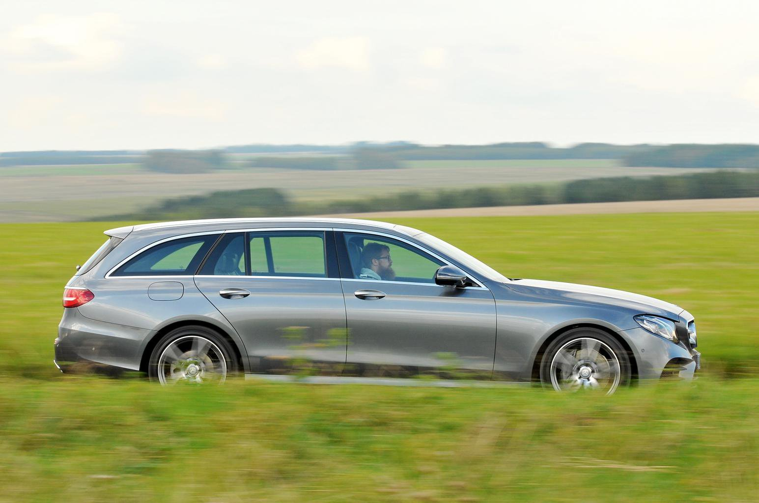 New Mercedes E-Class Estate and Volvo V90 vs Audi A6 Avant