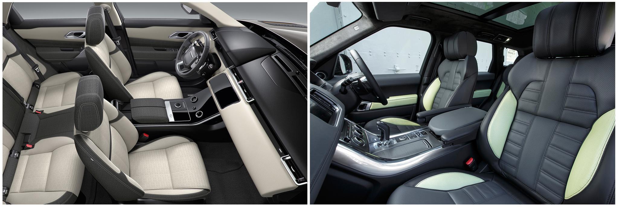 New Range Rover Velar vs Range Rover Sport