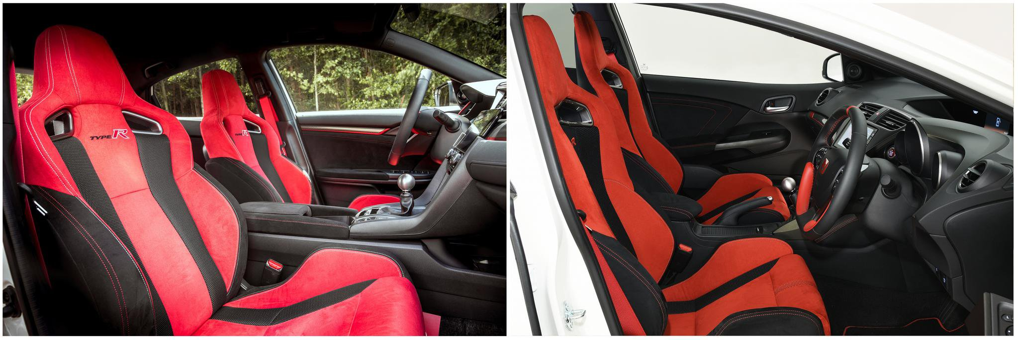 Honda Civic Type R: new vs old compared