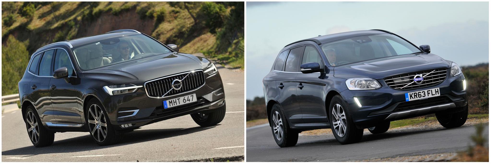 Volvo XC60: new vs old compared