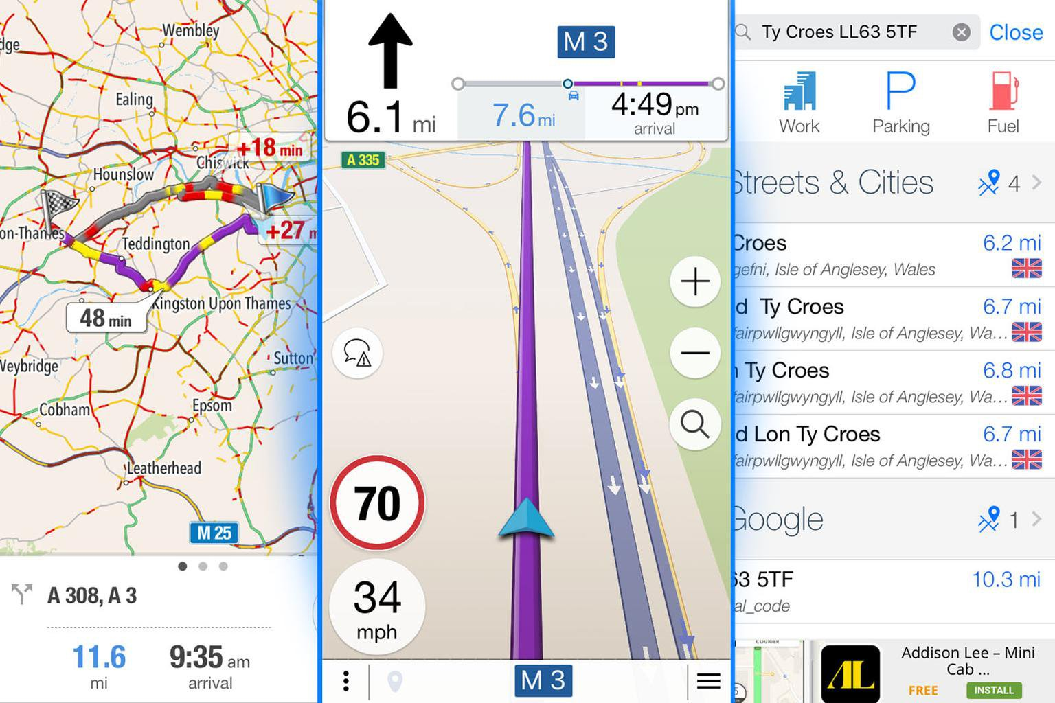 What's the best free sat-nav app for smartphones?