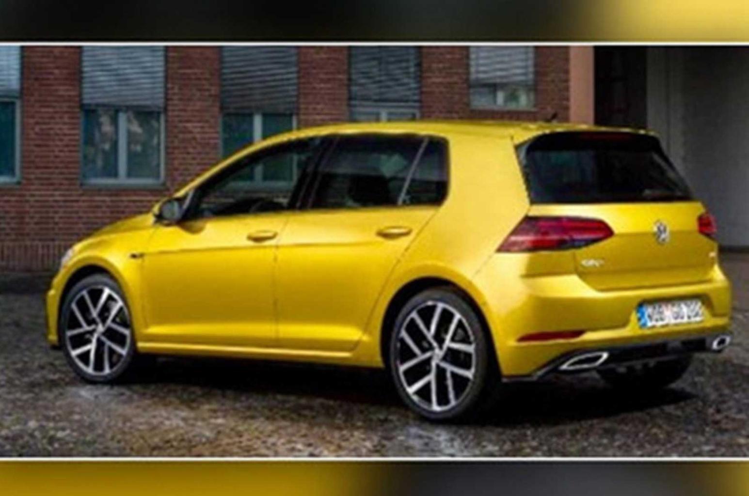 2017 Volkswagen Golf leaked ahead of official debut