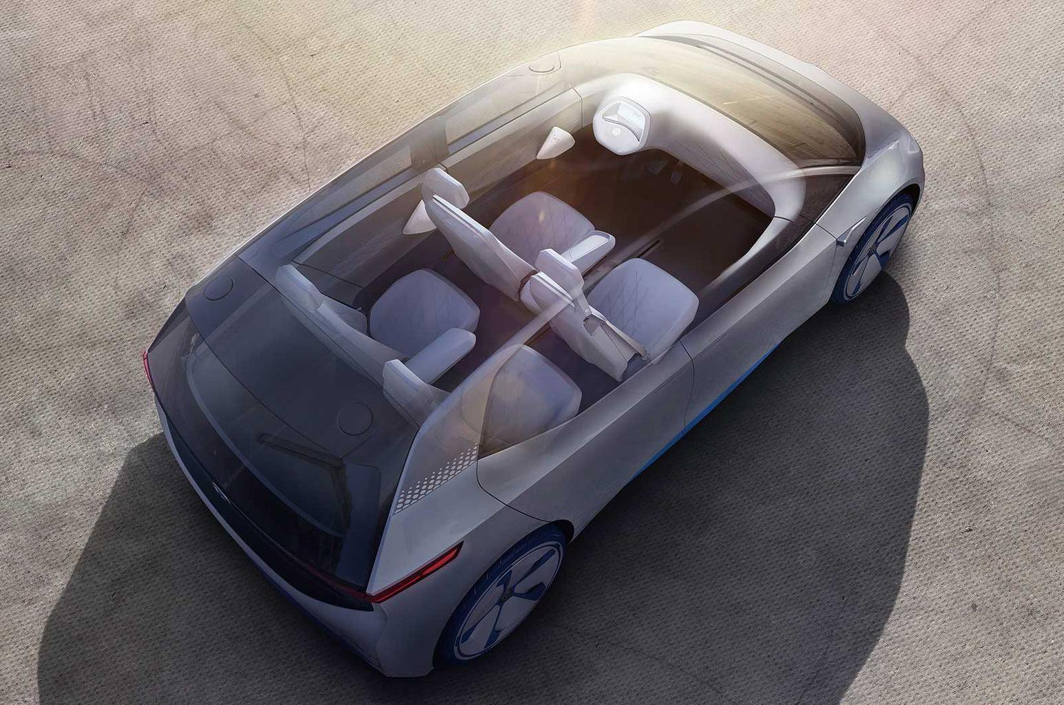 VW ID concept previews new electric car