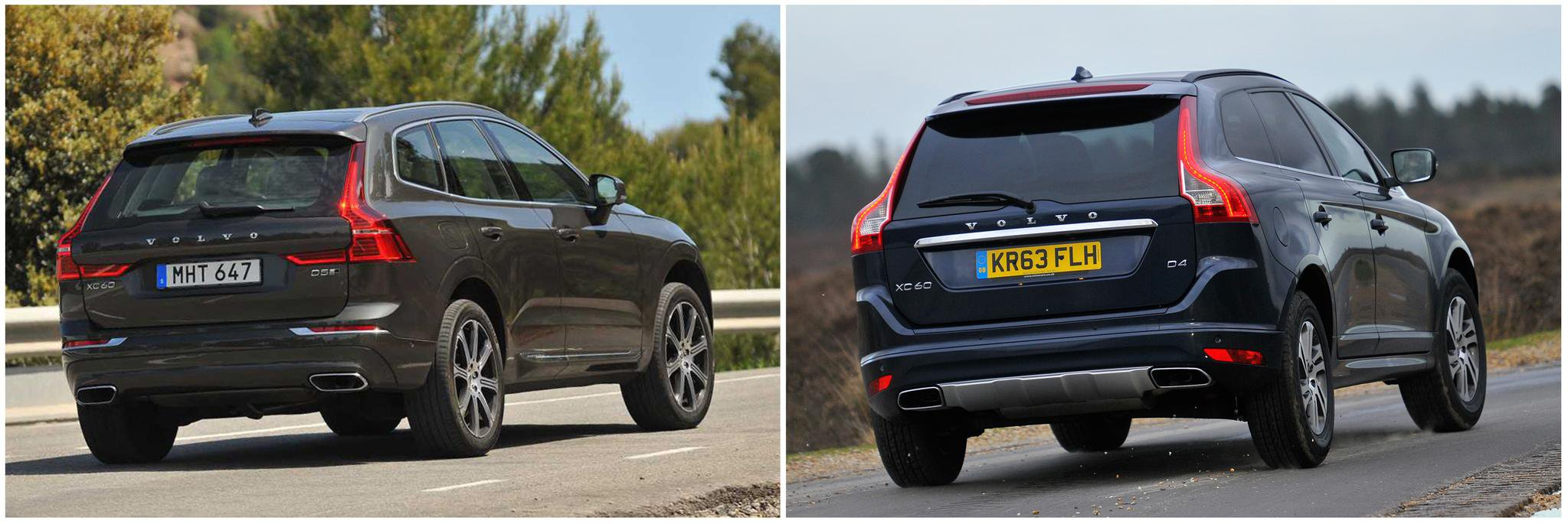 Volvo Xc60 New Vs Old Compared What Car
