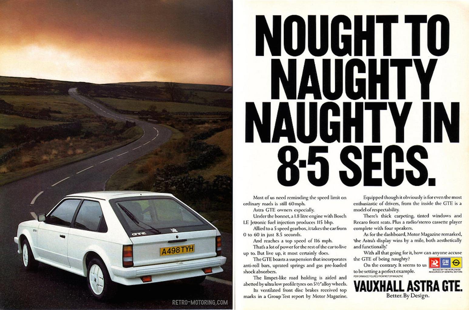Vauxhall Astra GTE – Rewind Wednesday