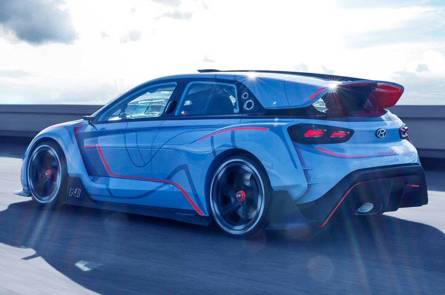 Hyundai previews new hot hatch with RN30 concept car