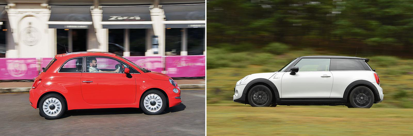 New Fiat 500 Vs Used Mini Cooper Which Is Best