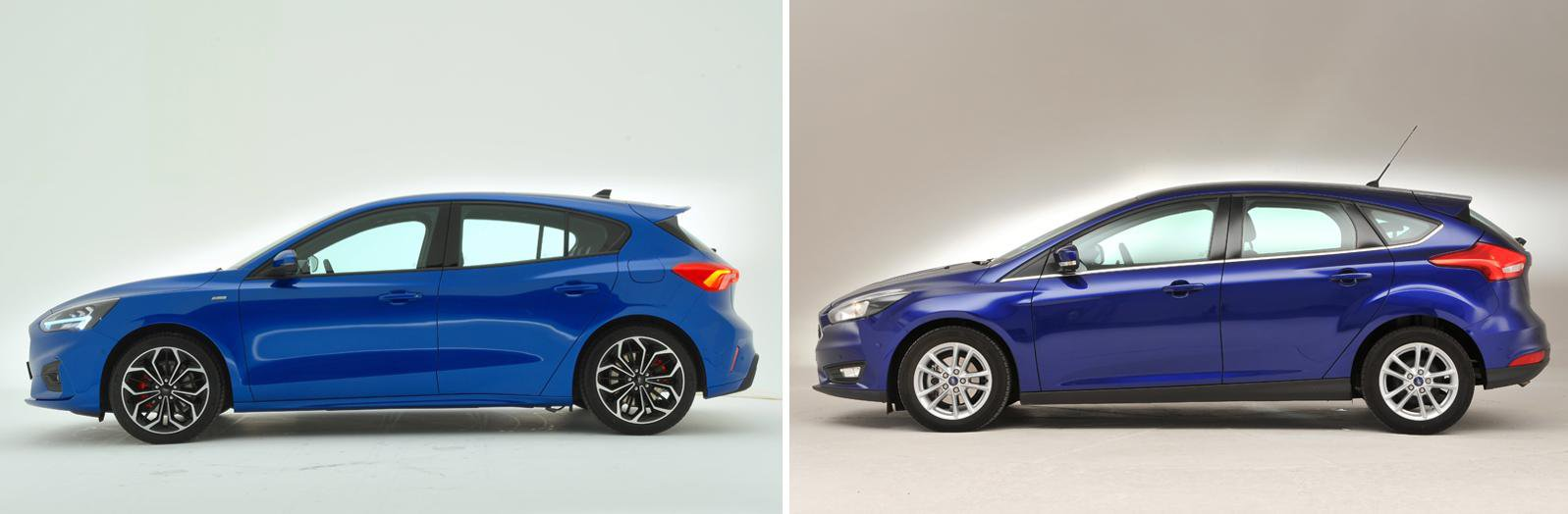 Ford Focus: new vs old compared
