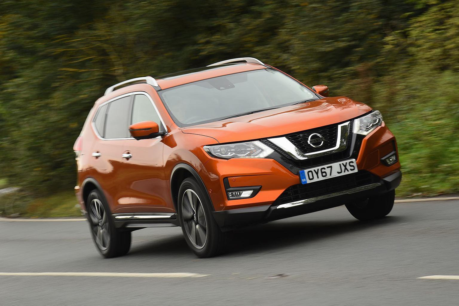 New Nissan X-Trail & Peugeot 5008 vs Skoda Kodiaq