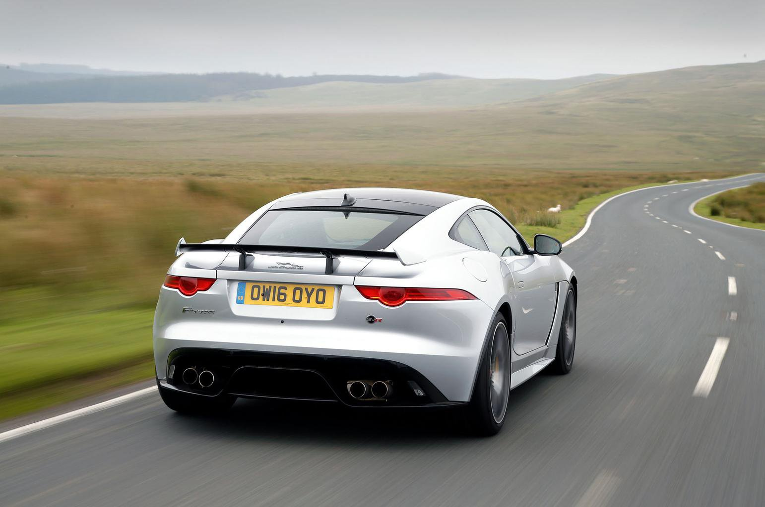 2016 Jaguar F-Type SVR review