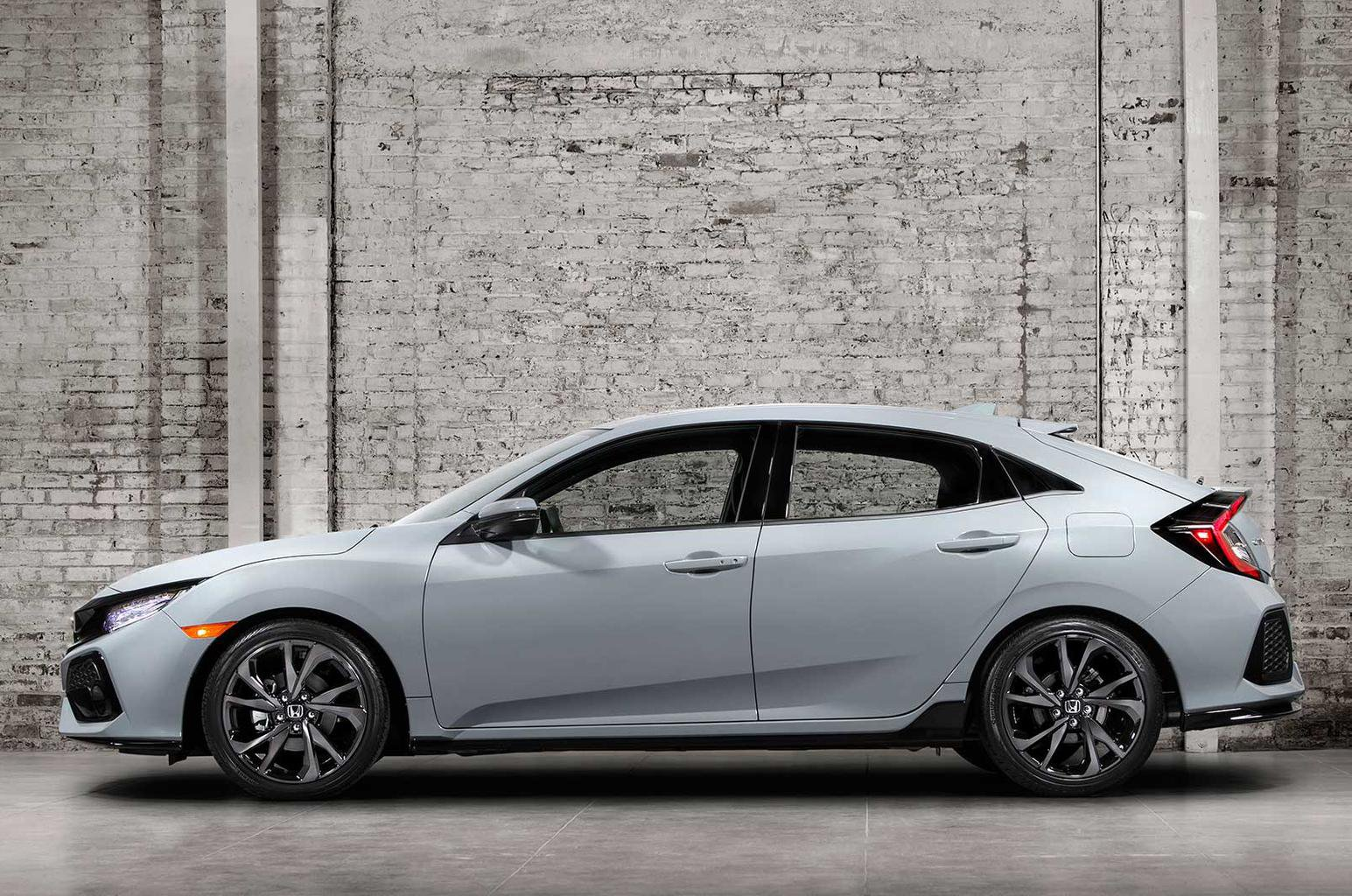 2017 Honda Civic revealed