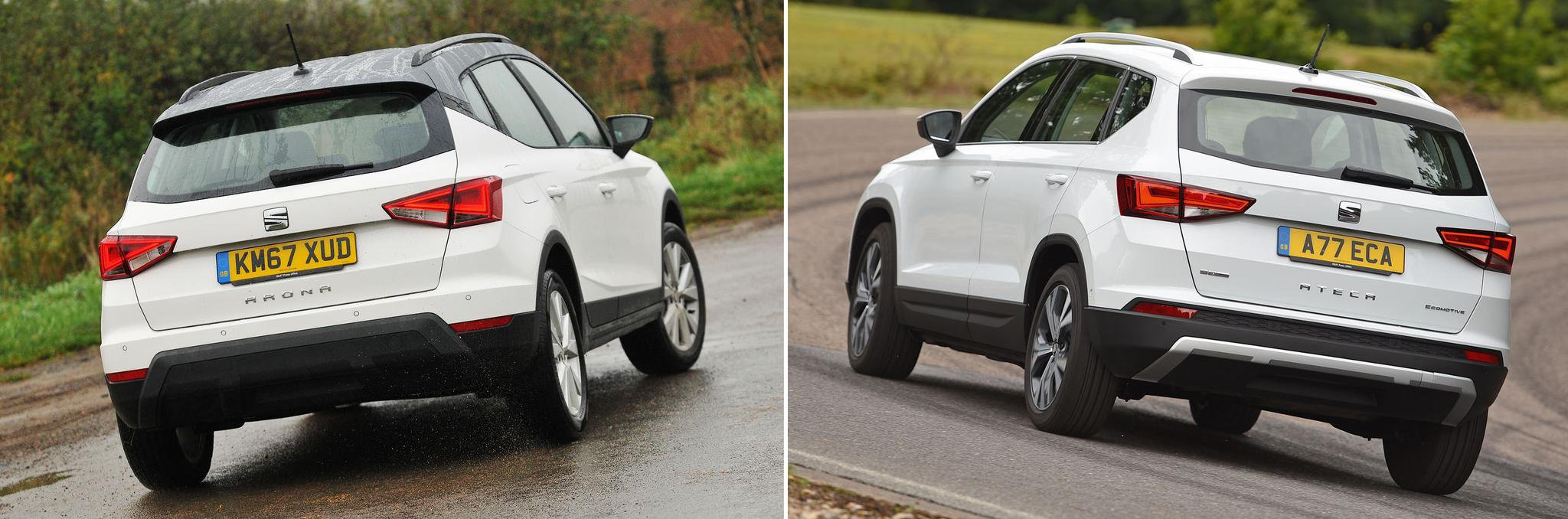 New Seat Arona vs used Seat Ateca: which is best?