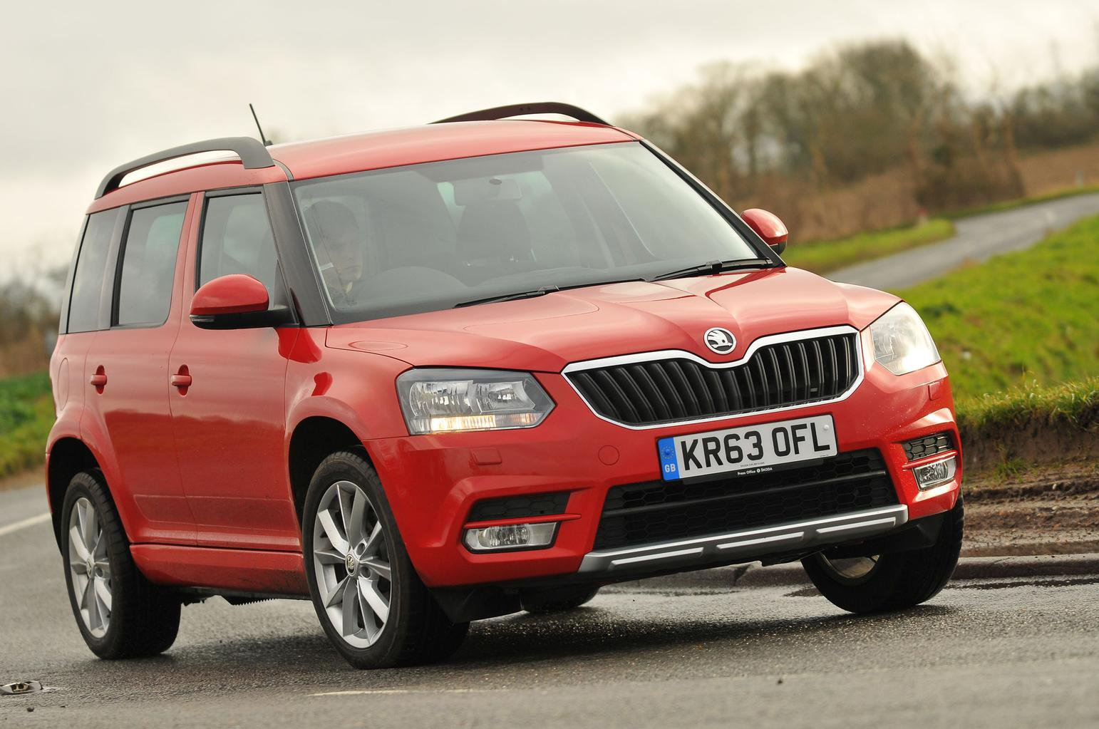 Skoda Yeti reviewed on video