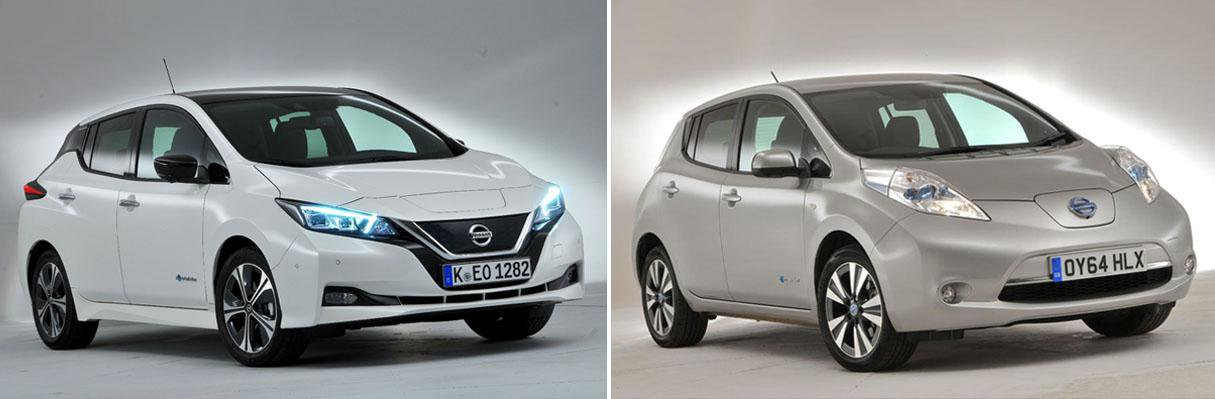 Nissan Leaf New Vs Old Compared What Car