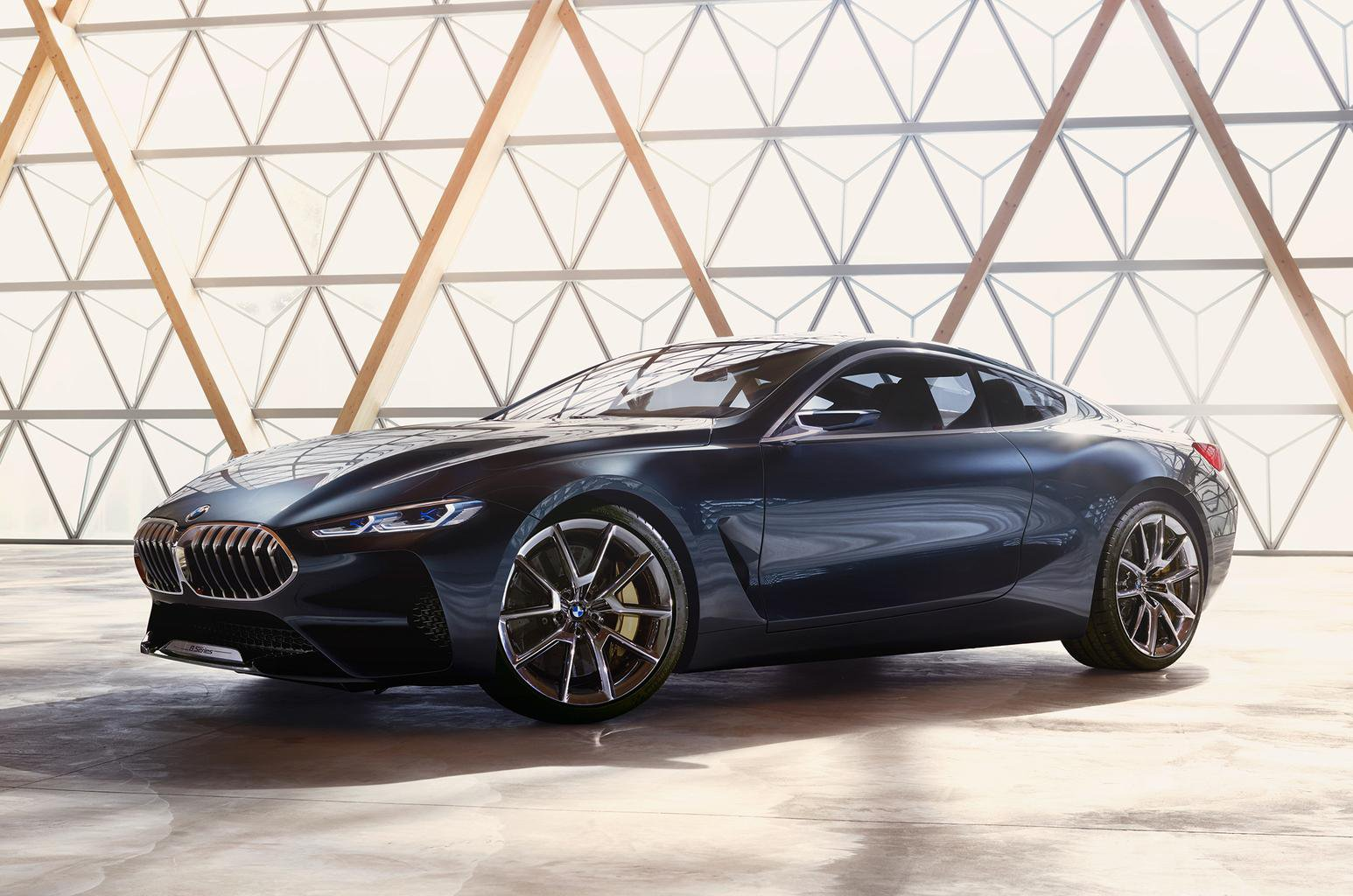 BMW 8 Series coupé revealed