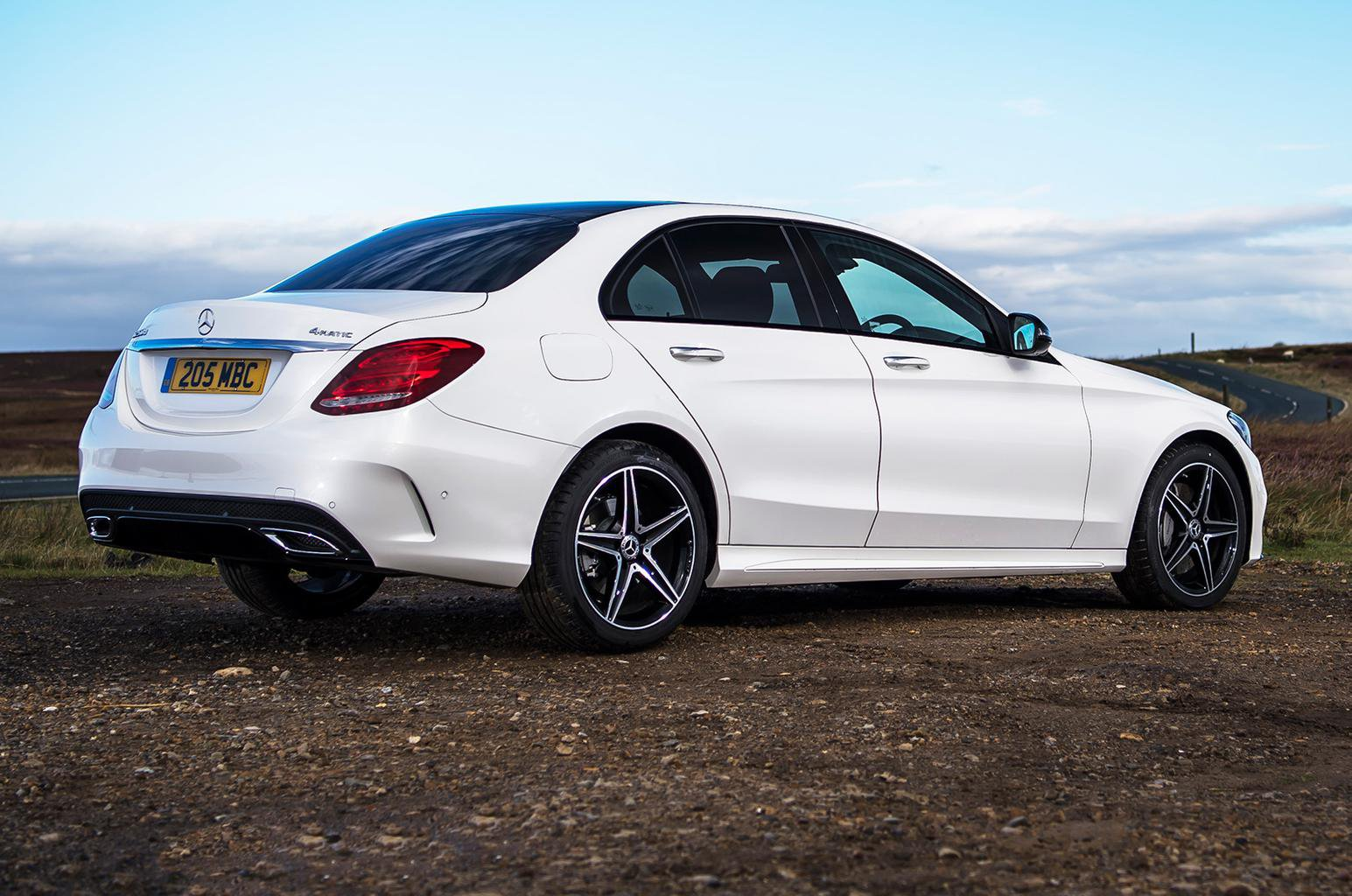 How to spec a Mercedes C-Class