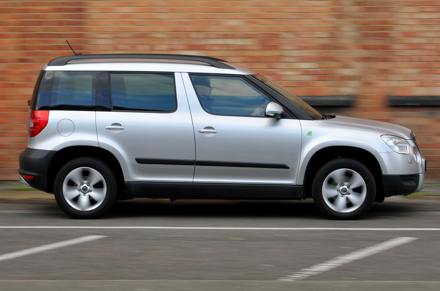 Used SUVs tested: Nissan Qashqai vs Peugeot 3008 vs Skoda Yeti