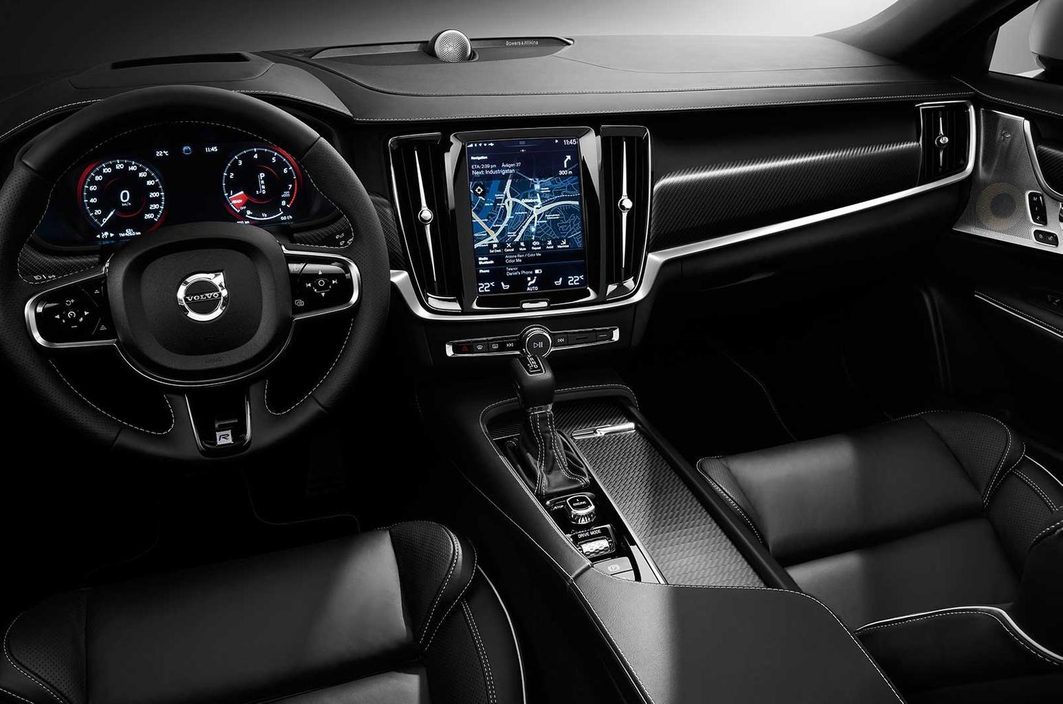 New Volvo S90 and V90 R-Design models revealed