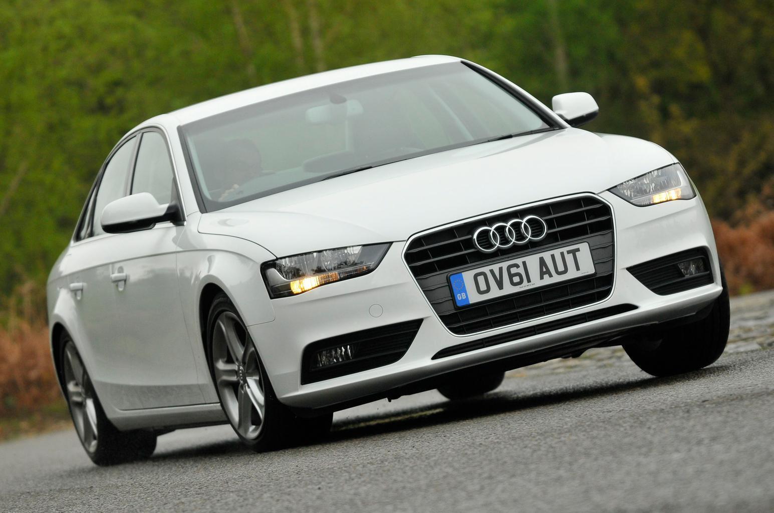 Used Audi A4 vs BMW 3 Series vs Mercedes C-Class vs Citroen DS5