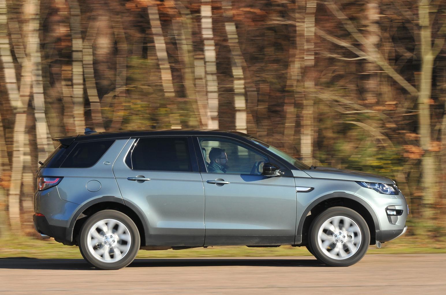 BMW X3 vs Land Rover Discovery Sport vs Mercedes GLC