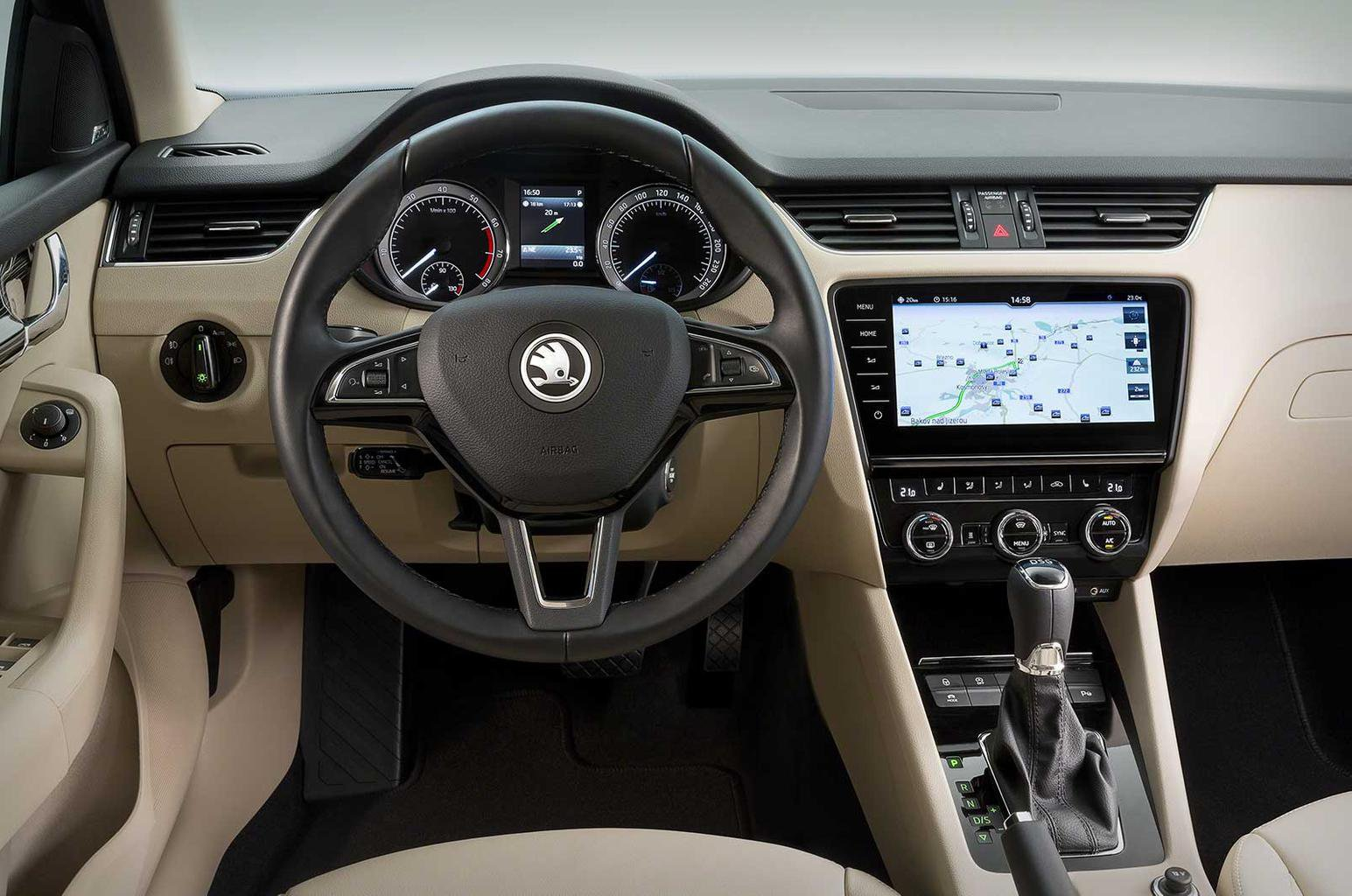 Skoda Octavia facelift revealed