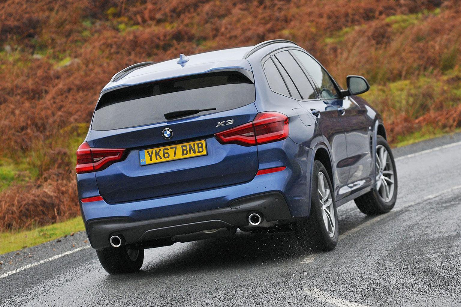 New BMW X3 vs Audi Q5 vs Land Rover Discovery Sport