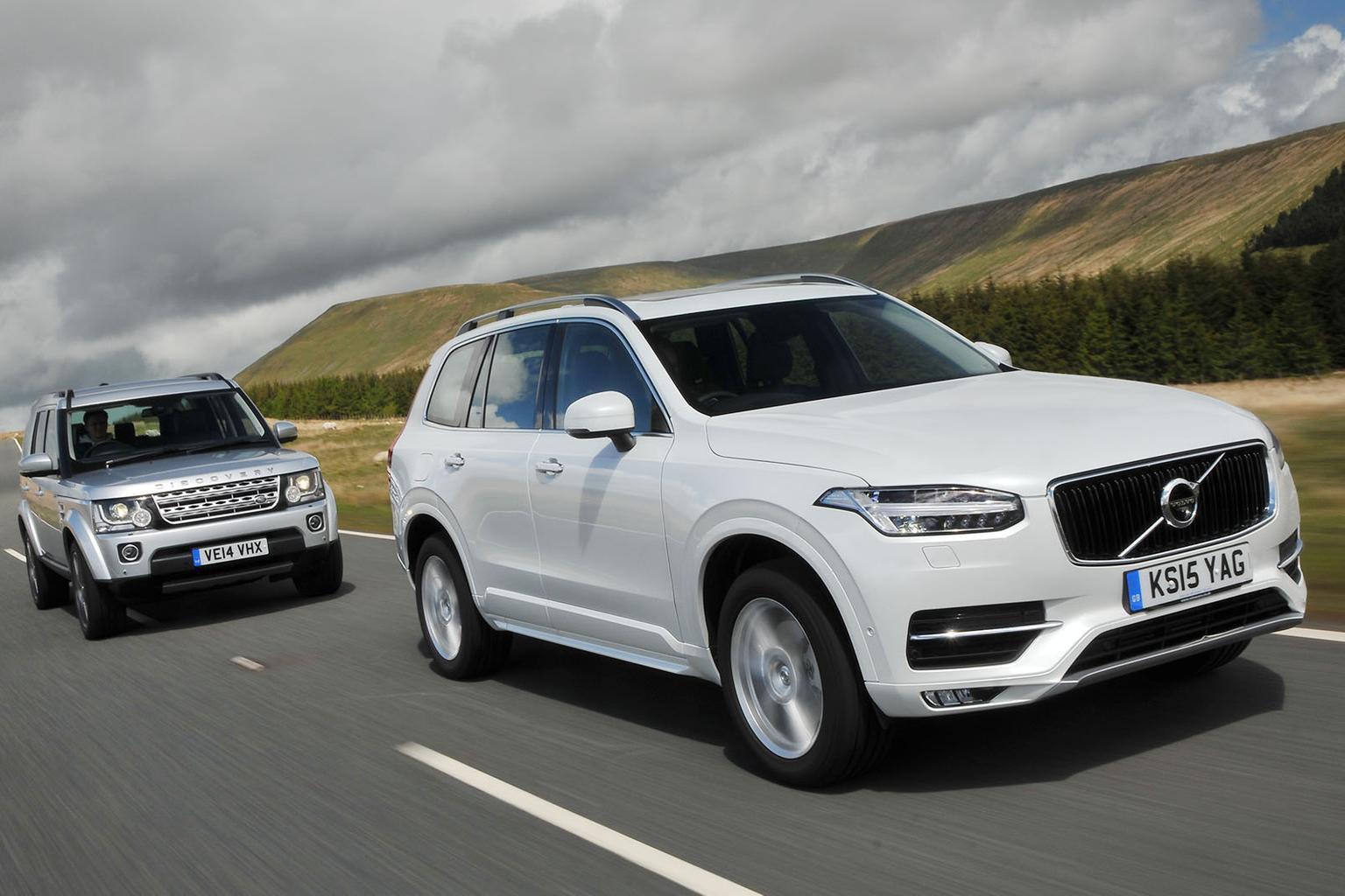Volvo XC90 vs BMW X5 vs Land Rover Discovery