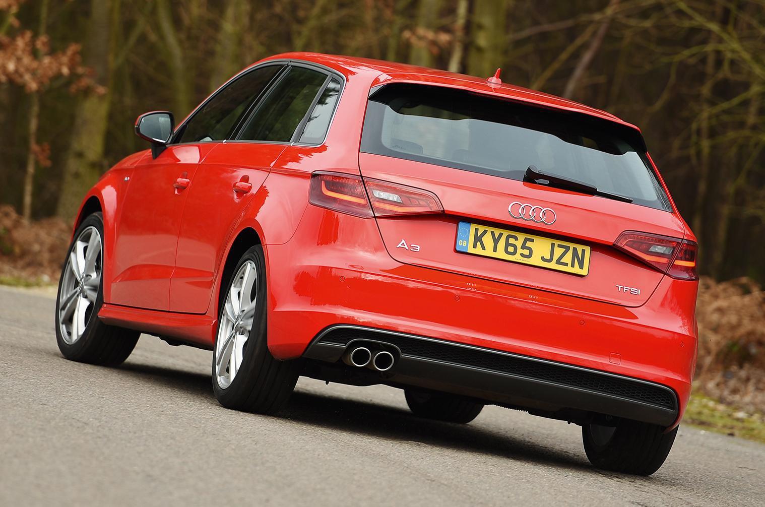 Audi A3 Sportback vs BMW 1 Series vs Infiniti Q30