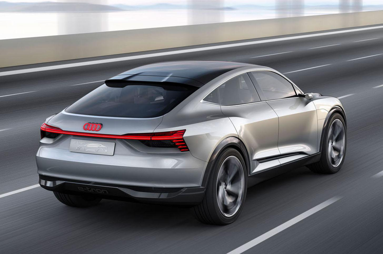 New Audi E-tron Sportback to take on Tesla