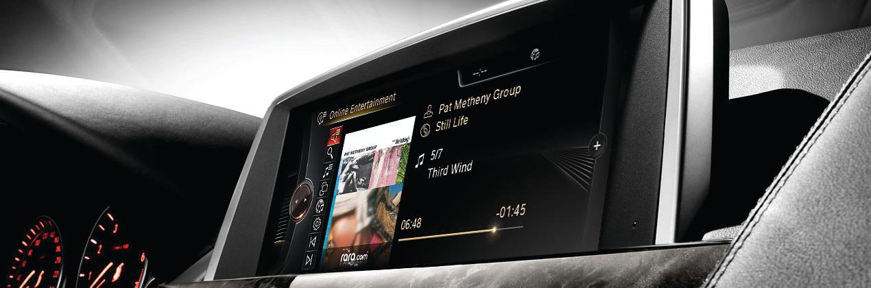 More BMWs available with music streaming