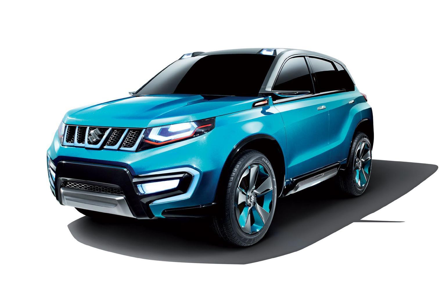 Suzuki IV-4 concept SUV unveiled