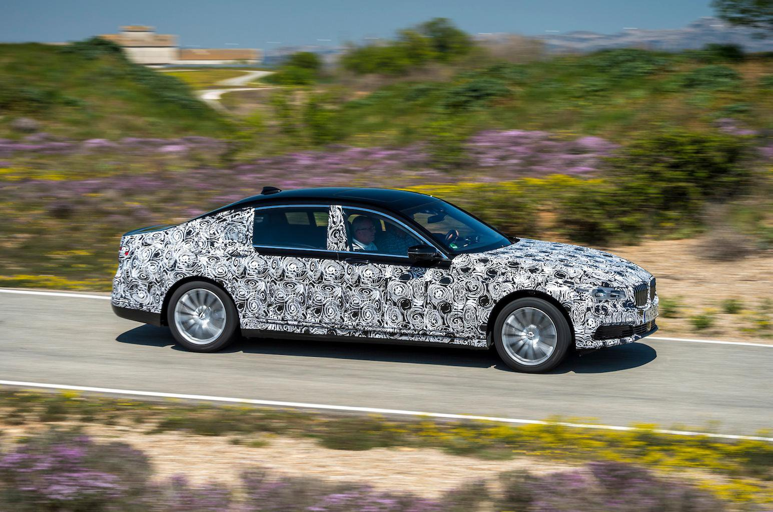 2015 BMW 7 Series prototype review