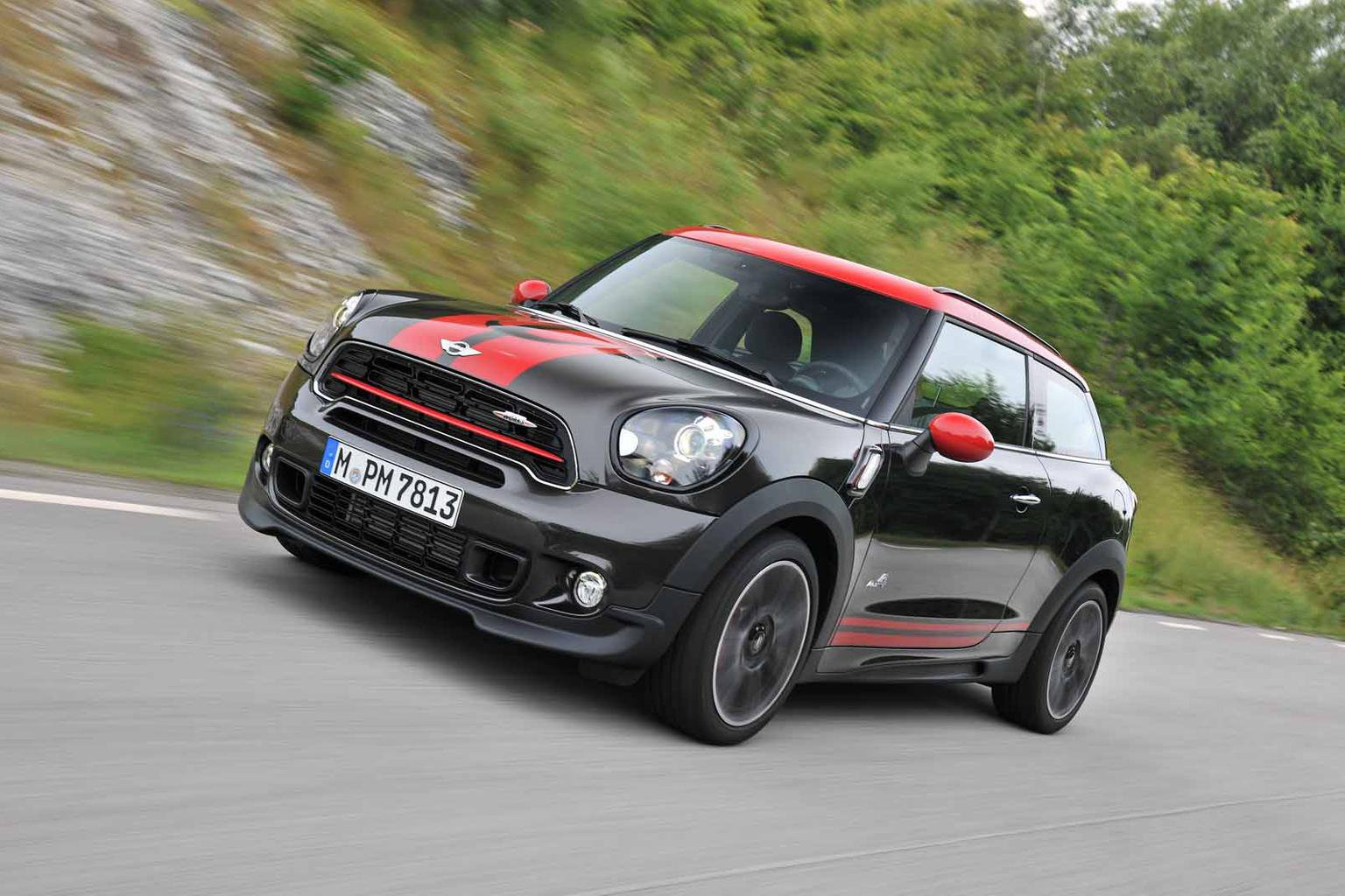 2014 Mini Paceman John Cooper Works All4 Review What Car