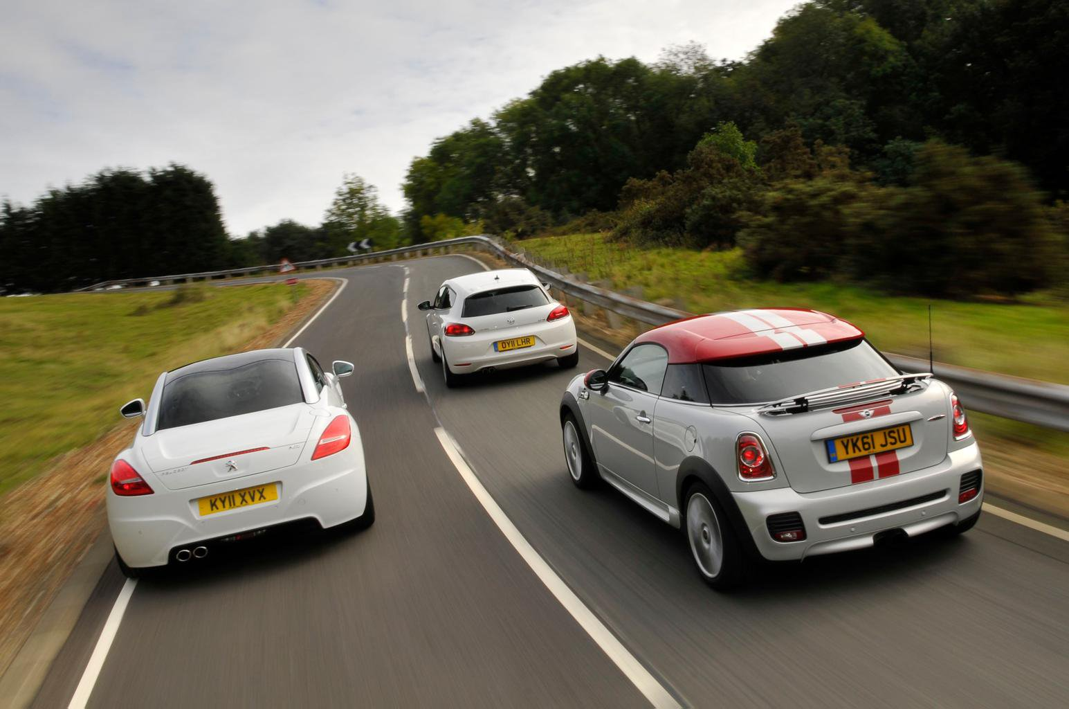Used test – sporty coupés: Mini Coupe vs Peugeot RCZ vs Volkswagen Scirocco