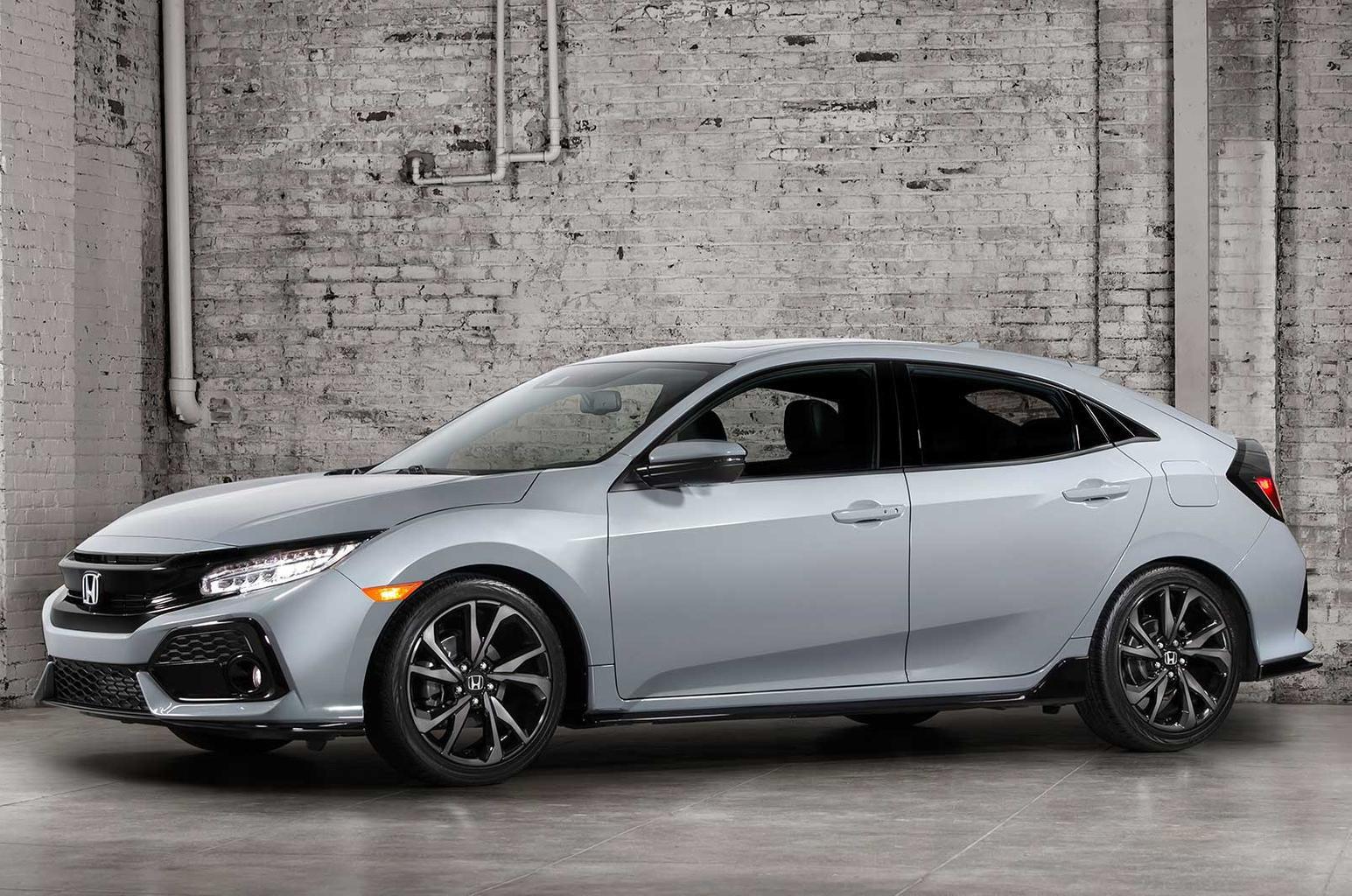 2017 Honda Civic revealed