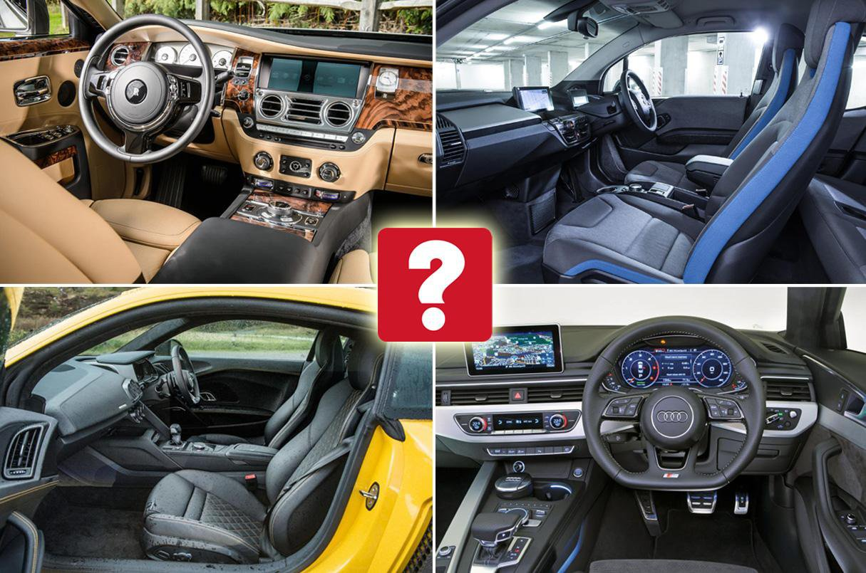 The best car interiors